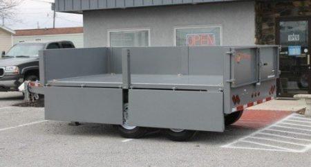 BWise DDHD14-15 Dump trailer 15400 GVWR 84 x 14'