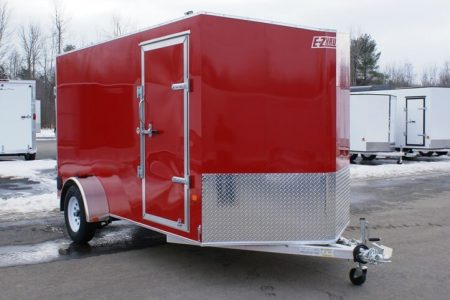 EZ-Hauler trailer enclosed EZEC series