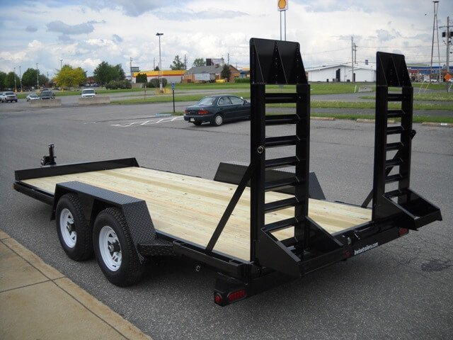 BWISE Equipment Lowprofile Bumperpull (angle-frame) – 15,000 lb.