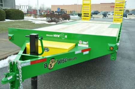 BWISE Equipment Deckover Bumperpull - 15000 lb.