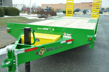 BWISE Equipment Deckover Bumperpull - 15000 lb.