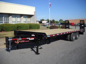BWISE Equipment Deckover Bumperpull - 23000 lb.