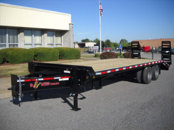 BWISE Equipment Deckover Bumperpull - 23000 lb.