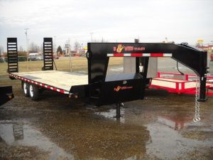 BWISE Equipment Deckover Gooseneck – 16800 lb.