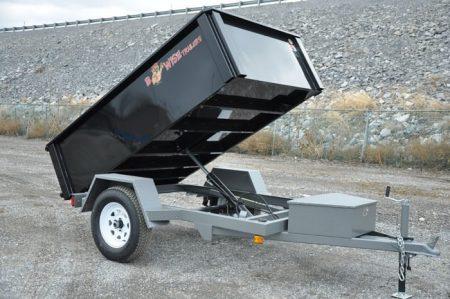 BWISE Dump Lowprofile Bumperpull – 5000 lb.
