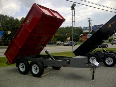 BWISE Dump Deckover Bumperpull – 9990 lb.