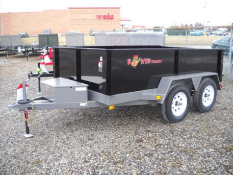 BWISE Dump Lowprofile Bumperpull – 7000 lb.