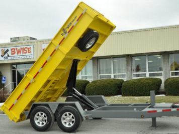 BWISE Dump Lowprofile Bumperpull HD – 15000 lb.