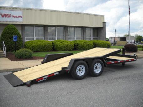 BWISE Tilt Lowprofile Bumperpull Hydraulic – 15000 lb.