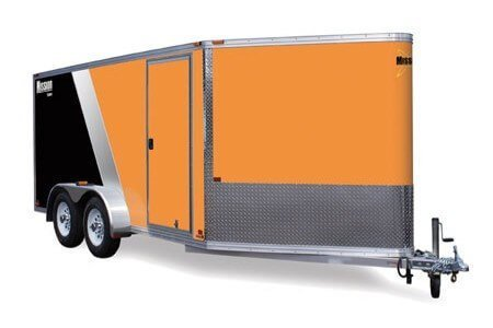 mission aluminum cargo trailer