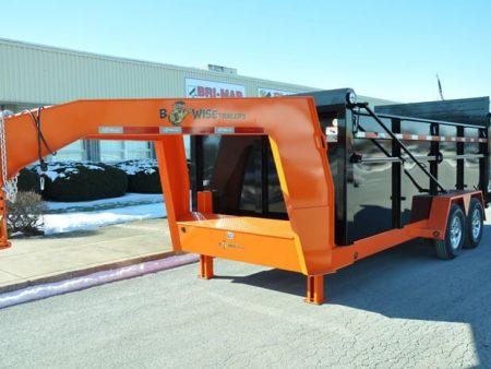 BWISE Dump Lowprofile Gooseneck ULTIMATE – 16800 lb.