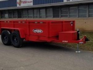 dump trailers Bri-Mar DT612LP-LE-12