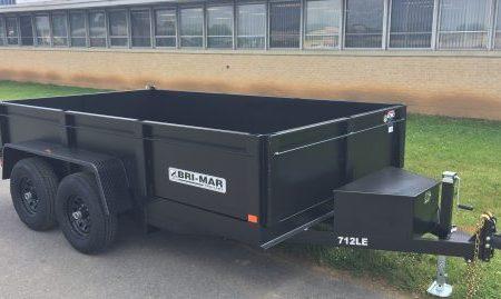 dump trailers Bri-Mar DT712LP-LE-10