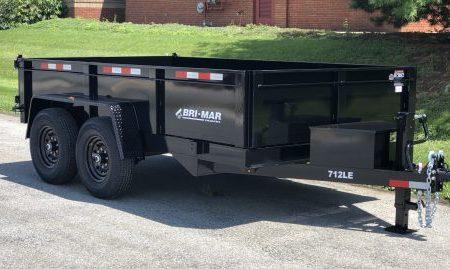 dump trailers Bri-Mar DT712LP-LE-14
