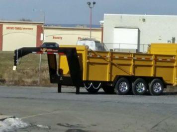 BWise Dump Lowprofile Bumperpull ULTIMATE 82″ x 16′ – 21000 GVWR