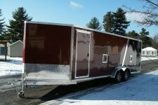 EZES7x22DL EZ Hauler Enclosed Snow Duralite 82½ x 22' - 6000 lb