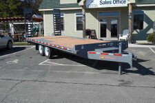 "EDB20-15 BWISE equipment 102"" x 20' trailer 15000 GVWR"