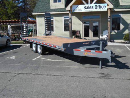 "EDB20-15 BWISE equipment 102"" x 20' trailer 15000 GVWR"