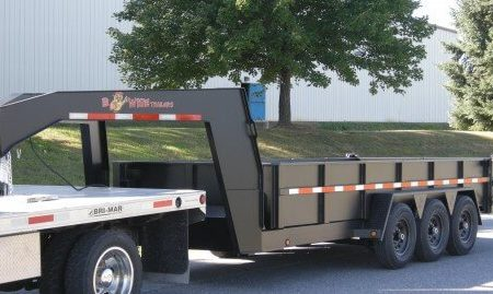 DLPG18-21 BWISE Dump Trailer 82 x 18' - 21000 lb