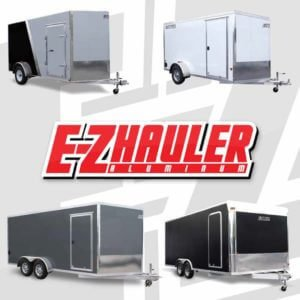 2013 ez-hauler trailer brochure cover