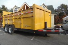 BWise DU16-15 Ultimate Dump 82 x 16' trailer - 15400 GVWR
