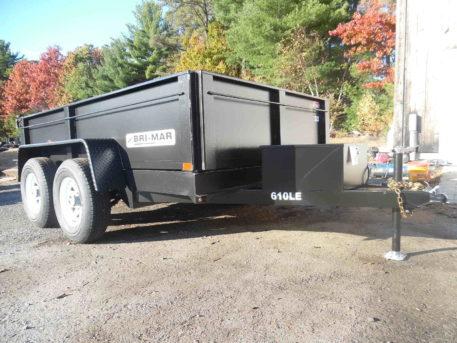 """Bri-Mar DT610LP-LE-10 Dump trailer - 72"""" x 10' - 9990 GVWR"""