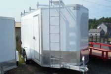 EZ-Hauler EZEC7x14UCP enclosed trailer 7000 GVWR