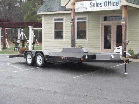 CFD18-7 BWise Carhauler trailer - 82 x 18' - 7000 GVWR