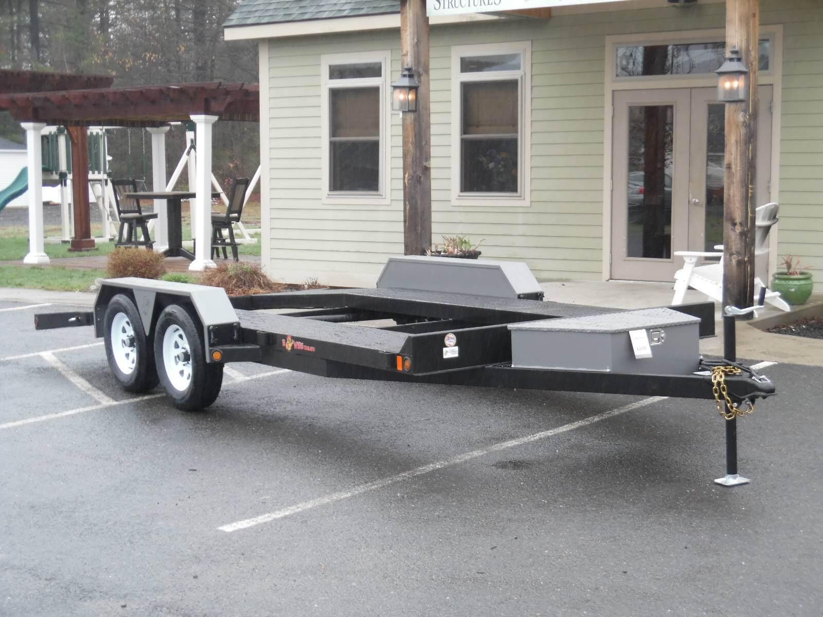 Carhauler Open Deck 82 X 16 7000 Gvwr Hometown Trailers