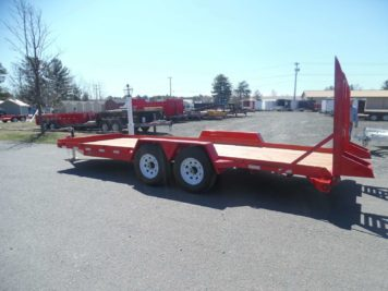 EA20-15 BWise Equipment trailer - 82 x 20' - 15400 GVWR