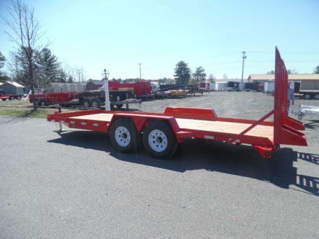 EA20-15 BWise Equipment trailer - 82 x 20' - 15400 GVWR