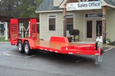 EC20-15 BWise Equipment trailer - 82 x 20' - 15400 GVWR
