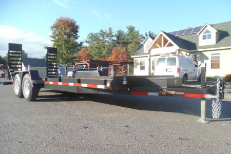 BWise EA20-15 Equipment trailer - 82 x 20 - 15400 GVWR
