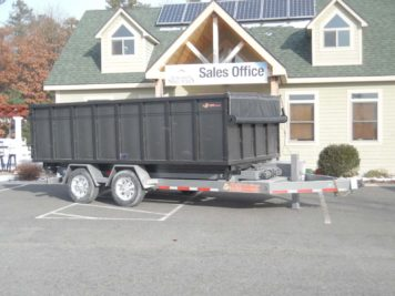 BWise MT-DUMPSTER Multi-Tasker Dumpster with tarp - 94 x 16'