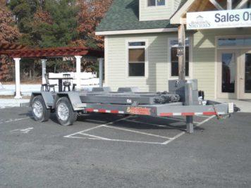 BWise MT816-18 Multi-Tasker trailer - 18400 GVWR