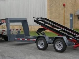 BWise Multi-Tasker base trailer with gooseneck