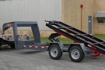 BWise Multi-Tasker base trailer with gooseneck
