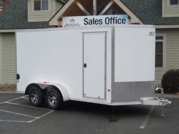 EZ-Hauler EZEC7x14 enclosed trailer 7000 GVWR
