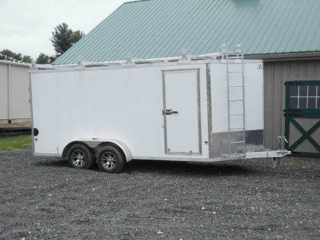 "EZ-Hauler EZEC7x16-UCP enclosed trailer 79½"" x 16' - 7000 GVWR"