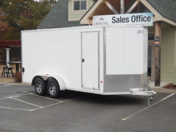 EZ-Hauler EZEC7x16 enclosed trailer 7000 GVWR