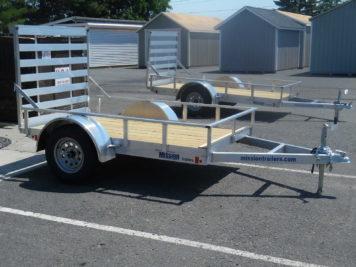 Mission MU60x8WR-2.0 Utility trailer - 60 x 8' - 2990 GVWR