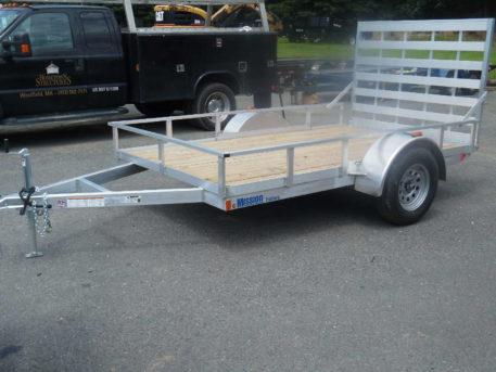 Mission MU72x10WR-2.0 Utility trailer - 72″ x 10′ – 2990 GVWR