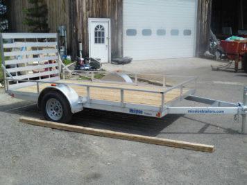 Mission MU72x12WR-2.0 Utility trailer - 72″ x 12′ – 2990 GVWR