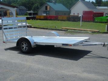 Mission MU80x12AR-2.0 Utility trailer - 80 x 12' - 2990 GVWR