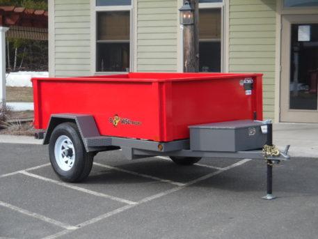 "BWise DLP8-5 Dump trailer 60"" x 8' - 5000 GVWR"