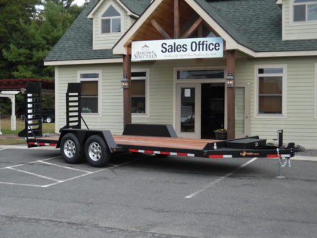 "BWise EC20-15 Equipment trailer - 82"" x 20′ – 15400 GVWR"
