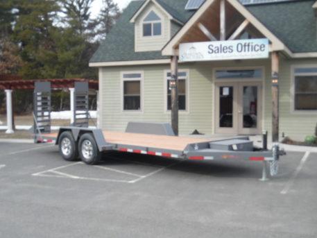 "BWise EC20-15 Equipment trailer 82"" x 20' - 15400 GVWR"