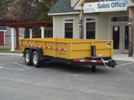 "BWise DLP16-15 Dump trailer - 82"" x 16' - 15400 GVWR"