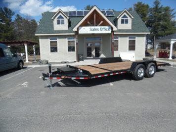 "BWise TG20-15 Tilt trailer 82"" x 20' - 15400 GVWR"