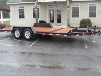 BWise TG20-15 Tilt trailer 82 x 20' - 15400 GVWR